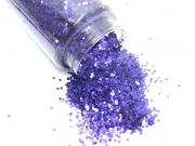 Flitter xmas purple 280g